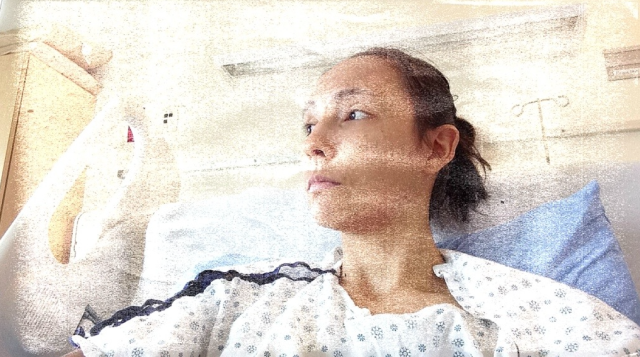 May 2013, after the first surgery, dealing with some seemingly minor post-op struggles.. Discharged (and readmitted that same day) shortly after this picture.