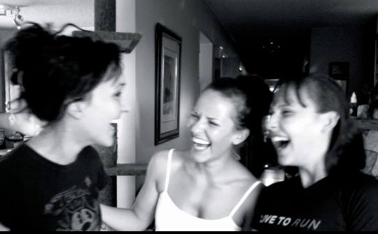 AFter move to Calgary (2005) and proper medical diagnosis, beginning of treatments (first 2 of 5 intestinal surgeries in 2005 + 2006, GI rehabilitation to restore function of the small intestine and subsequent rebuilding/recovery), my sisters and I reunite in 2010 after 5 years apart. The last state they saw me in  is seen in the previous picture.